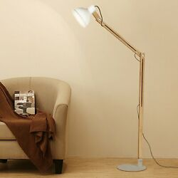 57quot; Adjustable Floor Lamp Reading Living Room Light Stand Bedroom Home Office US $24.99