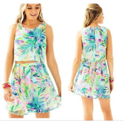Lilly Pulitzer 2 Piece Hilah Set Multi Island 6 $55.00