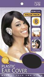 Plastic Ear Cover Value Pack Clear DZ $1.25