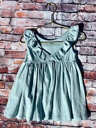 Easter Spring Summer Girl's Dress By Vignette In Aqua Blue $22.99