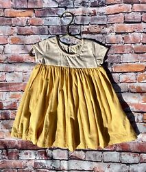 Easter Spring Summer Girl's Dress By Vignette In Sunshine Yellow. $22.99
