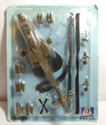 GE FABBRI DIECAST 1:100 SCALE US ARMY APACHE HELICOPTER SEALED BLISTER PACK GBP 7.50