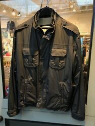 Remy Mens jacket micro with leather collar size 40 lists for $695 $149.00