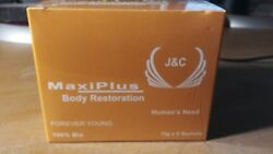 MAXI PLUS BODY RESTORATION FOR MEN AND WOMAN  FOREVER YOUNG 100% bio $38.25