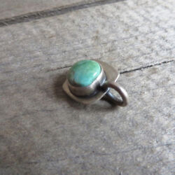Etsy Sterling and Turquoise Charm Pendant from Kelly Baldwin $32.50