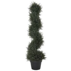 Topiary Artificial Faux Cedar Tree Plant with Included Nursery Pot $75.00