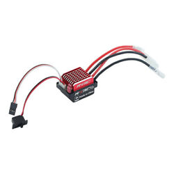 RC ESC 60A Brushed Motor Controller for 1 10 RC Tank Truck Accessories $14.77