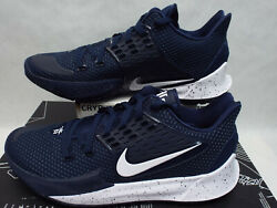 New Mens 15 NIKE Kyrie Low 2 Promo College Navy White Shoes MSRP $150 CN9827 400 $75.00