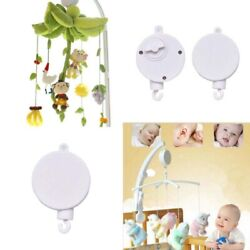 US Rotary Baby Cot Mobile Crib Bed Toy Wind up Music Box Bell Hanging For Infant $8.59
