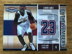 2003 04 Fleer Patchworks LeBron James By the Numbers RC12 Of 15 Rookie Card NM $79.99