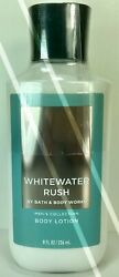BATH BODY WORKS*WHITEWATER RUSH*Mens Lotion Cream*NEW*Free Shipping AUTHENTIC $14.50
