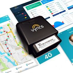 Car Tracker Vyncs GPS No Monthly Fee 4G LTE OBD Real Time GPS Tracking Trip Fuel $79.99