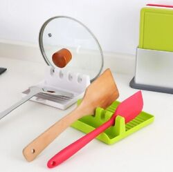 1 Pack Kitchen Heat Resistant pp Spoon Rest Cooking Utensil Spatula Holder Tool $5.99