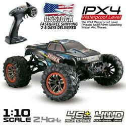 Electric RC Monster Truck Car 1:10 Scale 4WD 2.4Ghz Off Road Christmas Gift Cars $69.99
