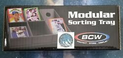 BCW Modular Sorting Tray For Sports amp; Gaming Cards 6 Trays Per Box NEW $25.00