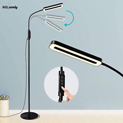 LED Dimmable Floor Lamps Adjustable Reading Lamp Standing Tall Lamp for Home US $46.99