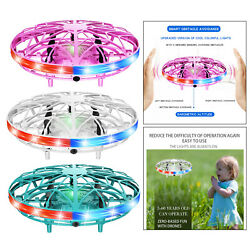 Children Mini UFO Induction Helicopter RC Flying Toy with LED Light 360 $13.38