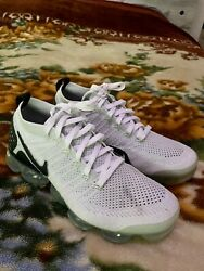 Nike 2017 Vapormax running style shoes trainers white black oreo