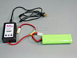 RC Battery Charger Combo 7.2V 3000MAH 6 Cell BATTERY PACK Quick CHARGER $33.99