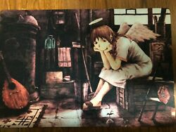 Haibane Renmei multi use Floor Table Room restroom pet dog cat Mat $23.95