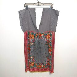 Flying Tomato bohemian dress size Large Floral $25.00