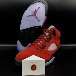 AIR JORDAN 5 RETRO RAGING BULL TORO BRAVO 2021 DD0587 600 SHIP NOW $329.99