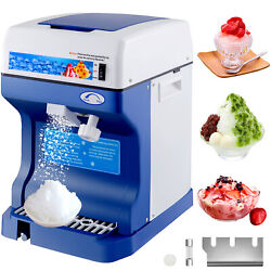 Ice Shaver Crusher Snow Cone Maker Machine Food Grade Commercial Stainless Steel $135.95