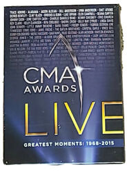 CMA Awards Live Greatest Moments 1968 2015 New Sealed DVD U24