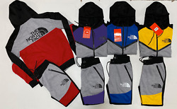 North Face Tech Sweat Suit Zip Up Jacket And Jogger Complete Set Free Shipping $45.00