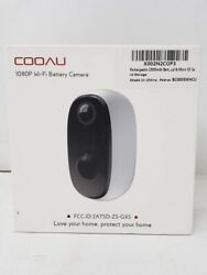 PRE OWNED Security Camera Outdoor With Rechargeable 10000Mah Battery Cooau $44.99