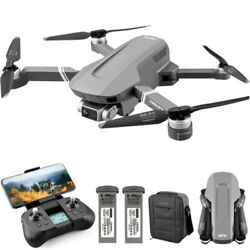 4K RC Drones GPS with HD Camera Foldable Quadcopters BatteryBag Brushless Motor $188.00