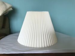 Stiffel Vintage Lamp Shade Pleated Fabric 10quot; $29.00