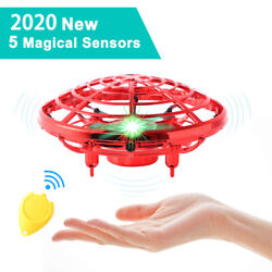 Mini Drones UFO Hand Operated Helicopter Remote Control Toys Gifts For Kids N1P9 $16.46
