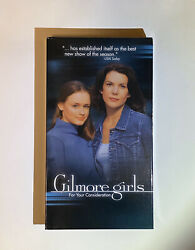 Gilmore Girls For Your Consideration VHS Screener Tape Rare WB Collectible 2000s $8.95