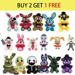 Five Nights at Freddy#x27;s FNAF Horror Game Plush Doll Plushie Toys Kids Gift $10.99