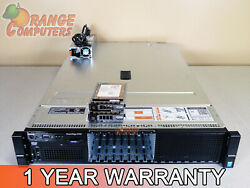 Dell R730 12 Core Server 2x E5 2620 v3 2.4GHz 384GB 16 2x 300GB 15K SAS H730 $1849.57