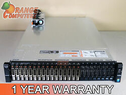 Dell R730xd 8 Core Server 2x E5 2623 v3 3.0GHz 64GB 8 16x 300GB 15K SAS H730 $1636.18