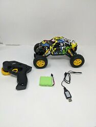 OPENED DOUBLE E RC Cars Rechargeable Remote Control Car with 2 Batteries 4WD $34.99