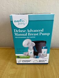 Evenflo Deluxe Advanced Manual Breast Pump For Occasional Pumping Portable zmx $23.99