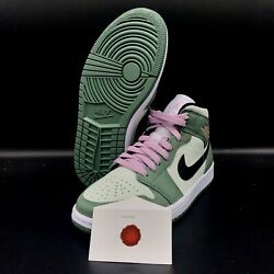 WMNS AIR JORDAN 1 MID SE DUTCH GREEN CZ0774 300 $229.99