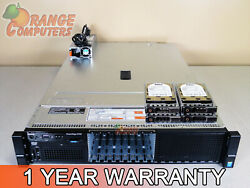 Dell R730 12 Core Server 2x E5 2620 v3 2.4GHz 96GB 8 4x 1TB SAS H730 2.5in $952.31