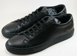 Common Projects Achilles Low Black Size 41 8 Brand New Sneakers
