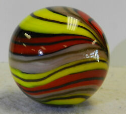 #12968m Handmade Contemporary Marble With Lutz 1.47 Inches $40.49