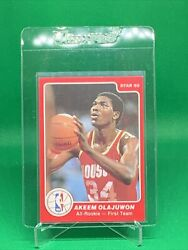 🏀1984 85 Star Set Break # 1 Akeem Hakeem Olajuwon 🏀 $129.99