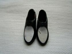 VINTAGE BARBIE KEN BLACK amp; WHITE DRESS SHOES JAPAN #1
