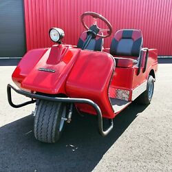 1975 Harley Davidson MINT gas golf cart $12000.00