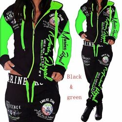Womens Sets Clothes Hoodies Pants 2 Piece Set Warm Printed Outfits Matching Suit $45.99