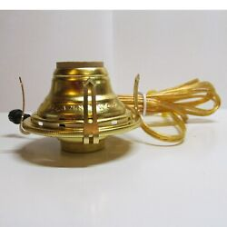Oil lamp adapter Electric #2 Burner for old antiquebanquetor painted lamps QA $27.95