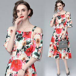 womens sexy 2021 runway summer dress cute Designer clothes holiday beach dresses