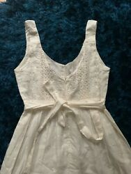 Juniors  deliAs Sweet White Bohemian  Dress  beach dress Portrait  Size 00 $15.00